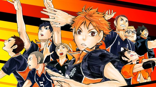 Haikyuu!!(High Kyuu!!) wallpaper containing anime entitled Haikyuu!! wallpaper