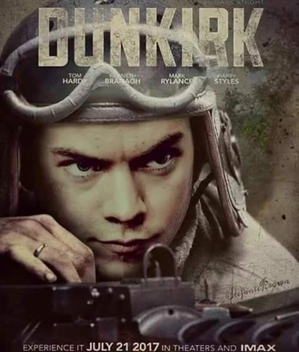 ... Styles wallpaper probably with a rifleman titled Harry Dunkirk fanmade