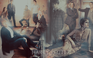 Harry Potter fondo de pantalla ♥