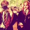Harry and Hermione photo entitled Harry and Hermione