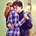Harry and Hermione - harry-and-hermione fan art
