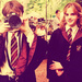 Harry and Hermione - harry-potter icon