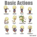 Hetalia  France Basic Actions - hetalia photo