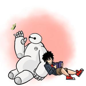 Hiro and Baymax