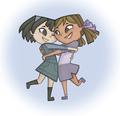 Hug! - total-drama-island fan art