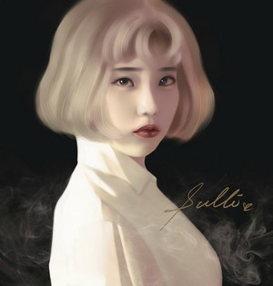IU Fan Art By 鹿贺凛