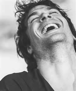 Ian Somerhalder laugh