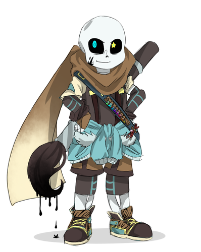 undertale hình nền entitled Ink Sans