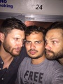 J2 and Mac Faulkner - jared-padalecki-and-jensen-ackles photo