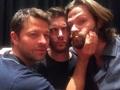 J2 and Misha - jared-padalecki photo