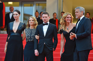 "Jack O'Connell and the cast of ""Money Monster"" at the Cannes Film Festival Premiere"