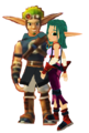 Jak  Mar  and Keira Hagai - jak-and-daxter photo