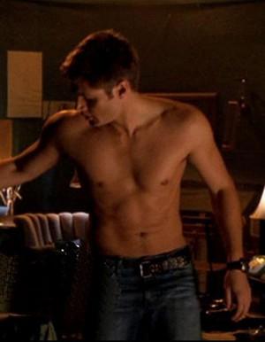Jensen Ackles shirtless Dean Winchester