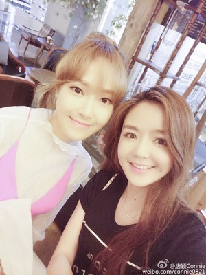 """Jessica at """"Beauty Bible"""" Filming Set"""