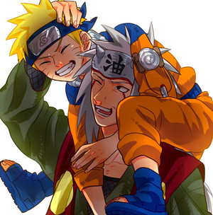 Jiraiya and Naruto ♥