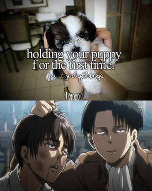 Just girly things. Аниме attack on titan small Eren x Levi is 9608ed 4984949