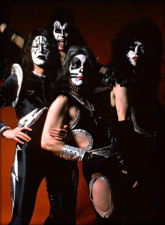 KISS ~Detroit, Michigan…May 14, 1975