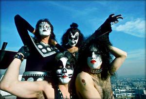 kiss ~Los Angeles, California…January 16, 1975 (Playboy Building)