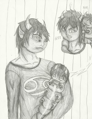 Karkat and his Grub