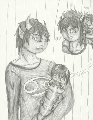 Karkat and his Grub