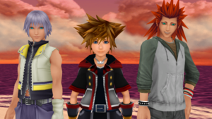 Kingdom Hearts 3 Sora Riku and Lea are Best फ्रेंड्स and Buddies ONLY.