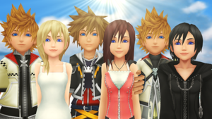 Kingdom Hearts Connected Together Thank You.