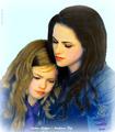 Kristen Stewart / Mackenzie Foy  - bella-swan fan art