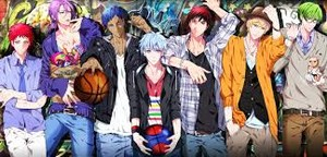 Kuroko s basketball Hintergrund