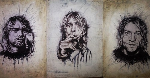 Nirvana images Kurt trilogy HD wallpaper and background photos