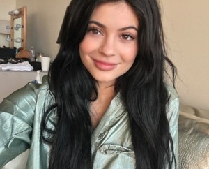Kylie without make-up