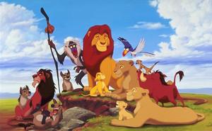Walt Disney images - The Lion King
