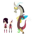 LPS Fanart Brittany and Whittany with Discord 2 - discord-my-little-pony-friendship-is-magic fan art