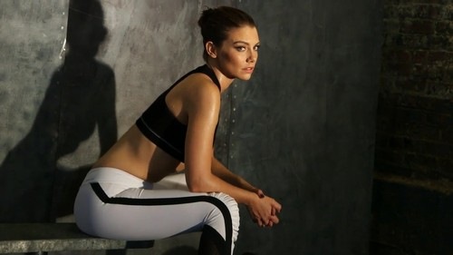 Lauren Cohan achtergrond possibly with tights titled Lauren Cohan Photoshoots