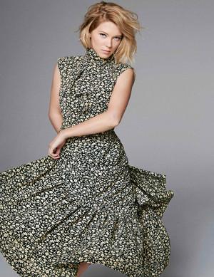 Lea Seydoux - Elle UK Photoshoot - June 2016