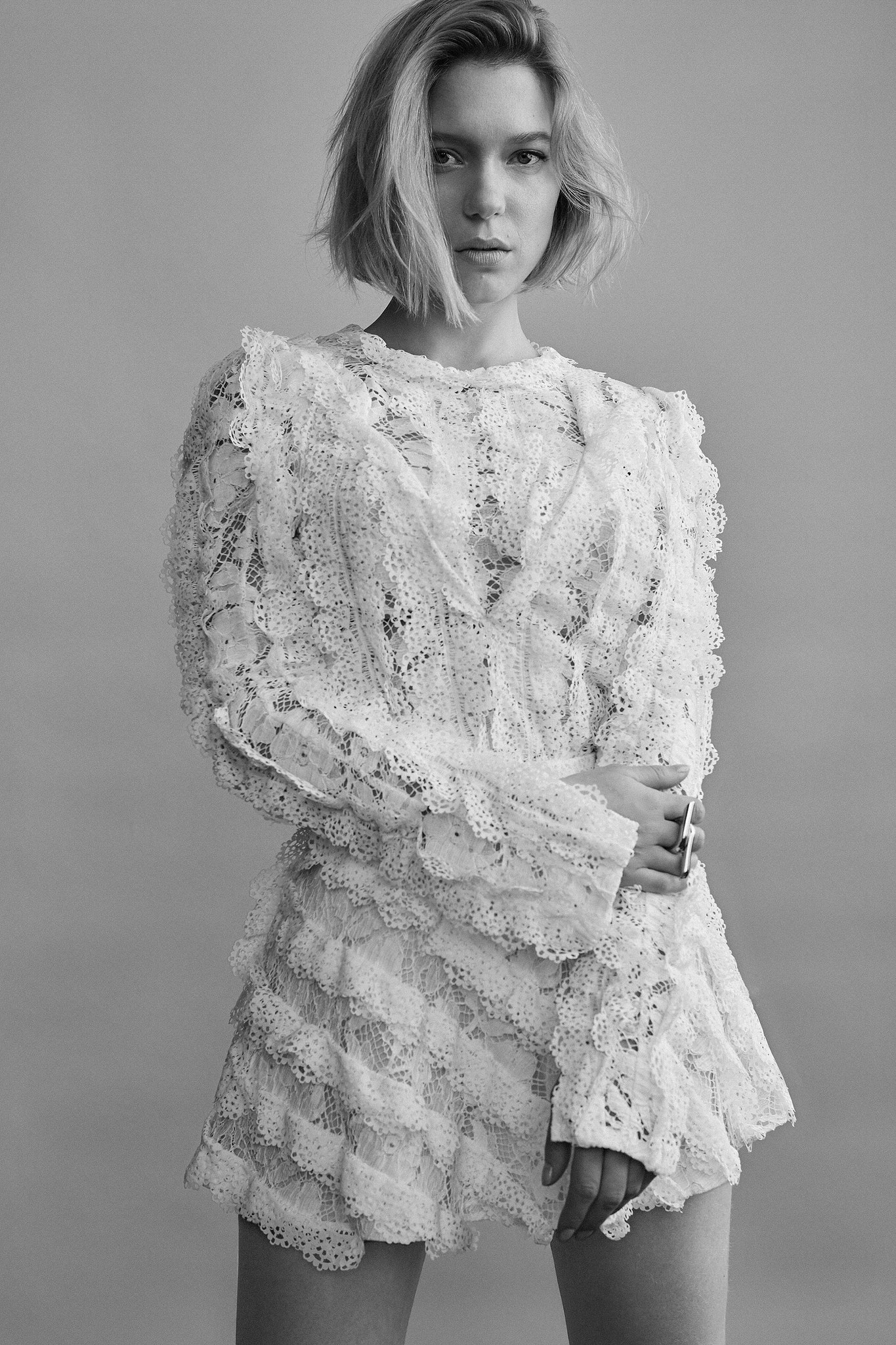 L 233 A Seydoux Images Lea Seydoux Madame Figaro Photoshoot