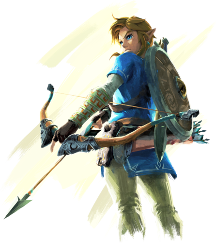 The Legend of Zelda wallpaper containing a lippizan entitled Link