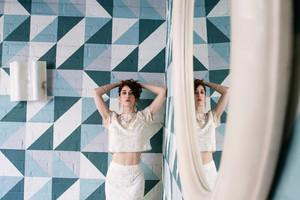 Lizzy Caplan - LadyGunn Photoshoot - April 2015