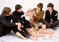 Look at George's arm. - the-beatles photo