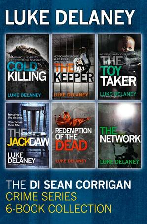 Luke Delaney book collection
