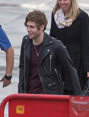 Luke arriving in Melbourne