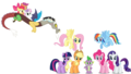 MLP Fanart The Gang - discord-my-little-pony-friendship-is-magic fan art
