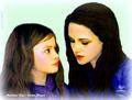 Mackenzie Foy / Kristen Stewart - bella-swan fan art
