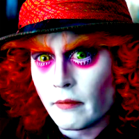 hatter as mad Johnny depp