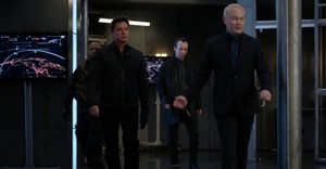 Malcolm Merlyn with the evil guys