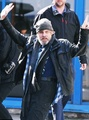 Mark Hamill at Belfast's Airport on 13/may/2016
