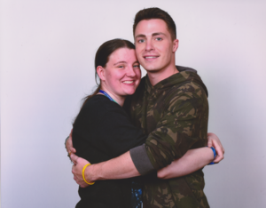Me and Colton Haynes