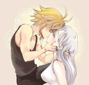 Meliodas and Liz