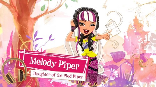 Ever After High wallpaper titled Melody Piper