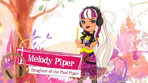 Ever After High wallpaper probably with Anime titled Melody Piper