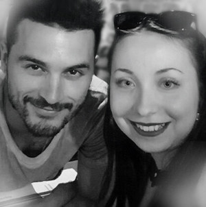 Michael Malarkey and me @Le Klub in Paris 07/06/16